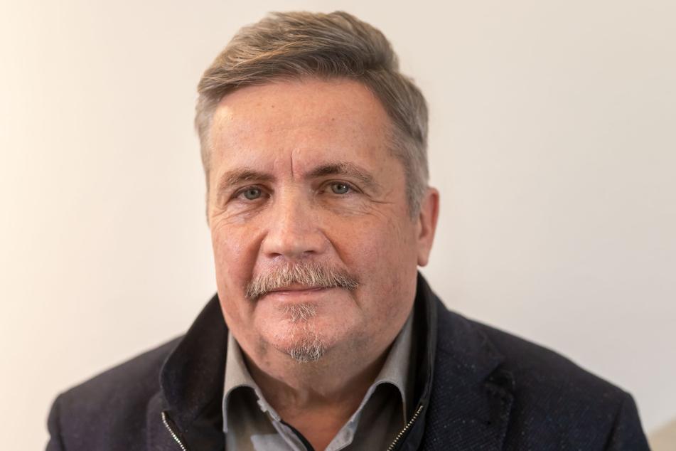 Annabergs OB Rolf Schmidt (60, Freie Wähler) hofft auf baldige Aufklärung.