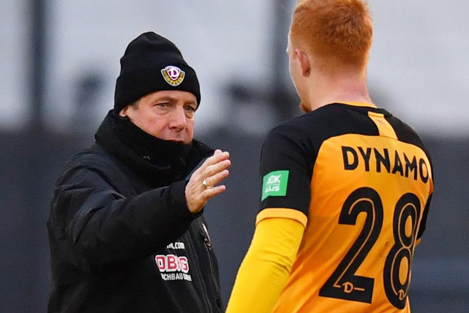 Paul Will (r.) ist für Dynamo-Trainer Markus Kauczinski eine Alternative für die linke Defensivseite.