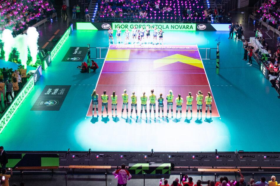 Berlin: Volleyball, Frauen: Champions League, Igor Gorgonzola Novara - Imoco Volley Conegliano, Finale. (Archivbild)
