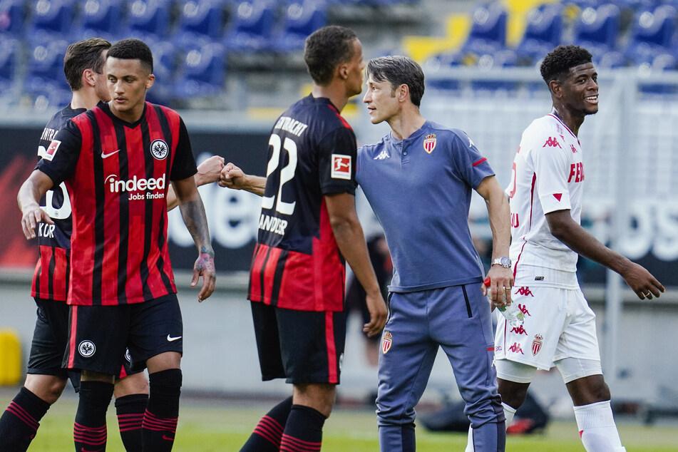 Eintracht Frankfurt und Monaco um Ex-Coach Niko Kovac trennten sich am Samstag Unentschieden.