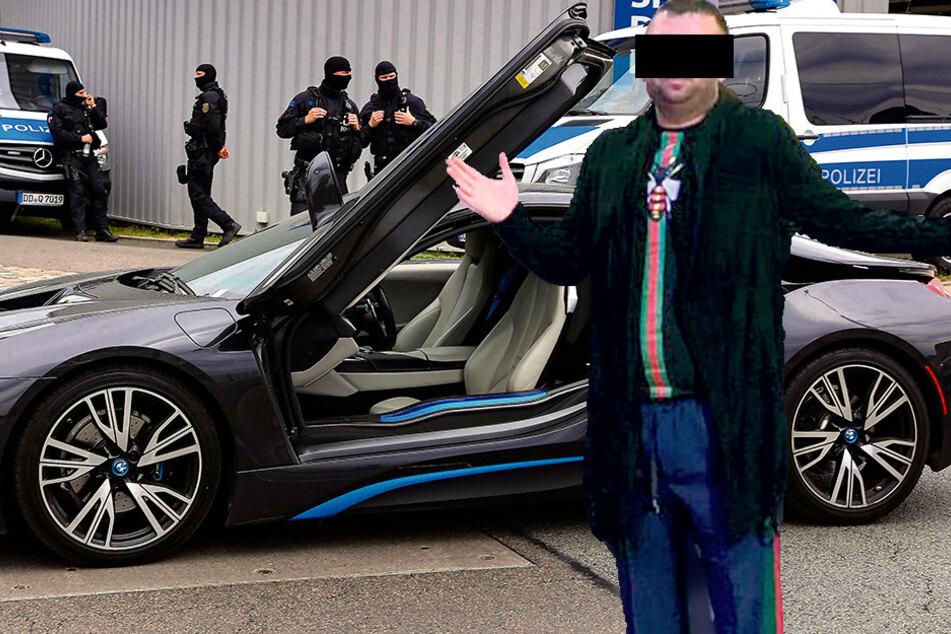 Neben dem Staatsanwalt hat Vladimir L. (37) auch noch ganz andere Kaliber an der Backe ... (Fotomontage)