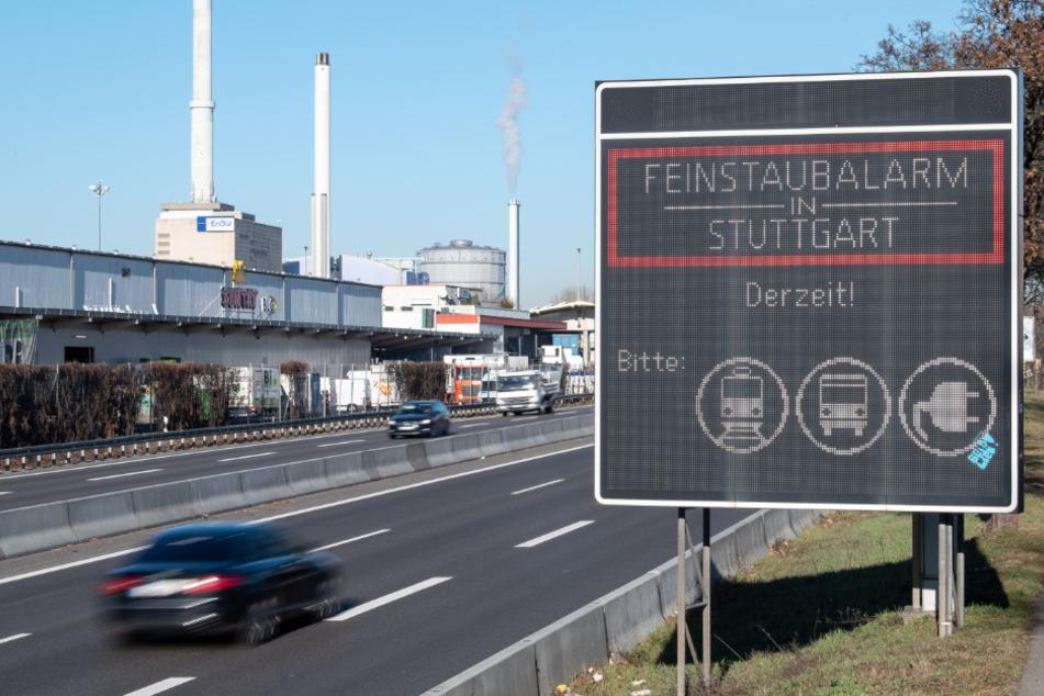 Stuttgart: Aus und vorbei: Kein Feinstaubalarm mehr in Stuttgart