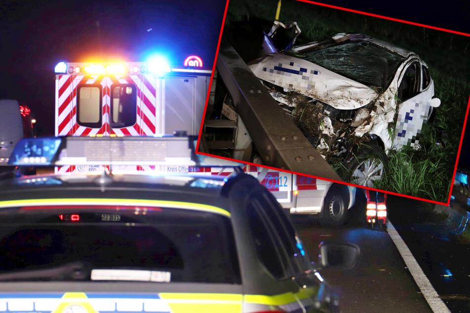 Unfall A3: Fatale Unachtsamkeit: Lkw rammt Pflegedienst-Auto bei Überholmanöver auf der A3