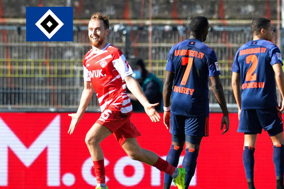 HSV blamiert sich in Würzburg: Rothosen verlieren trotz Aufholjagd beim Schlusslicht!