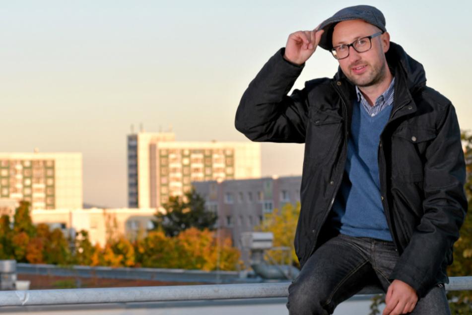 """Mathias Körner (42) kämpft für eine denkmalgeschützte """"Ostmoderne"""":"""