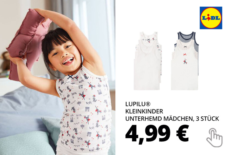 Kleinkinder Unterhemd Mädchen