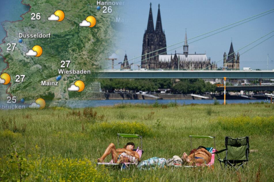 Badewetter am Wochenende? Das sind die Aussichten für Köln und NRW