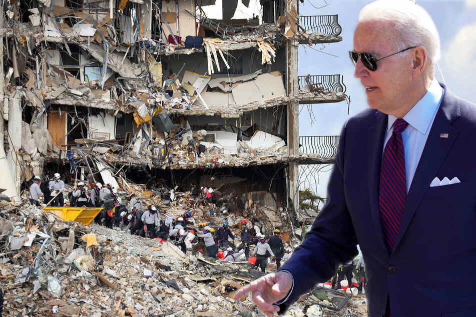 Biden to visit Florida and meet with Surfside community after condo building collapse