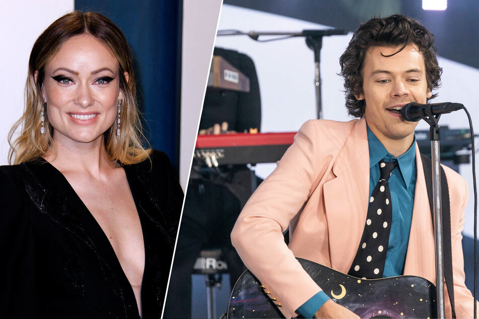 Olivia Wilde (36, l.) and Harry Styles (26): are the two celebs in love?