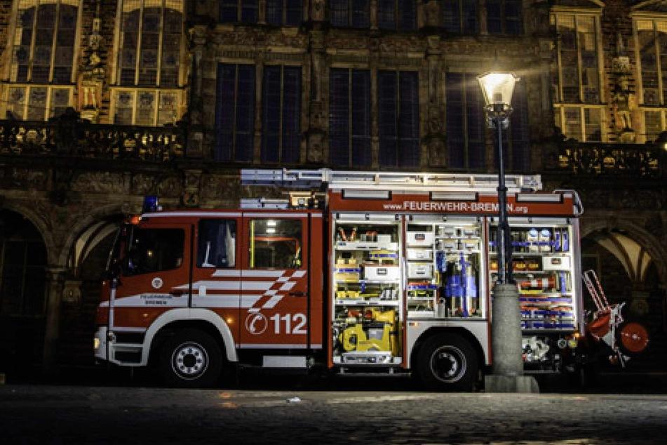 Brand im Bremer Rathaus! Feuerwehr kann Schlimmeres verhindern