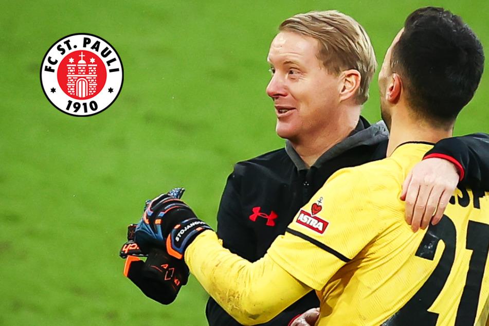 FC St. Pauli spielt erstmals zu Null, Coach Timo Schultz kann es kaum glauben!