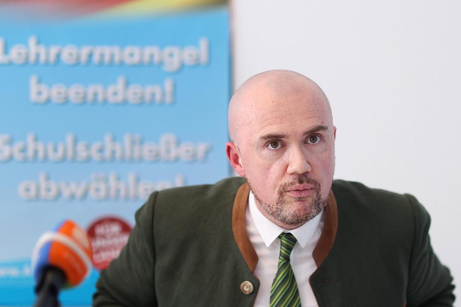 Sachsen-Anhalts Landtagsabgeordneter Hans-Thomas Tillschneider (43).