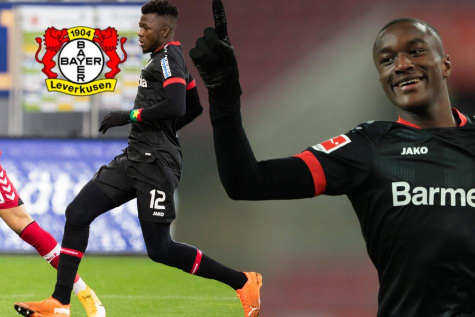 Leverkusen verlängert vorzeitig mit Diaby und Tapsoba