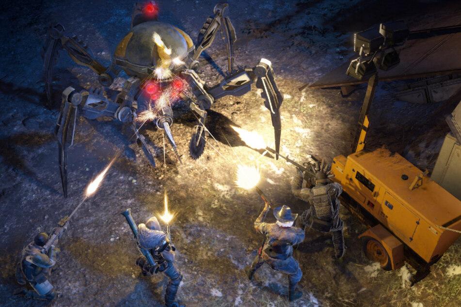 """""""Wasteland 3"""" schickt Euch nicht nur in den Kampf gegen fiese Banditen."""