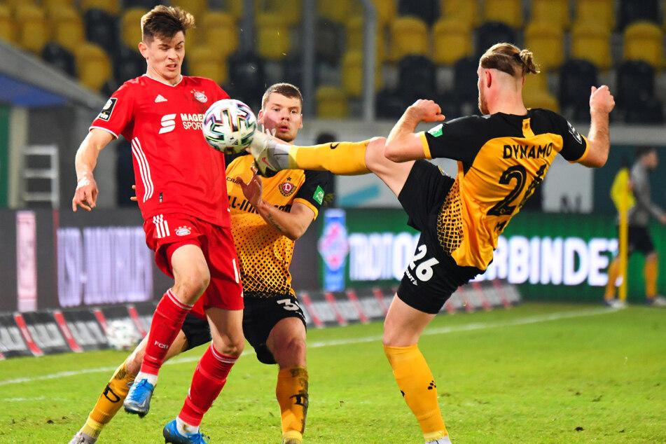 Am Mittwoch beim 1:1 gegen die Bayern kam Sebastian Mai (27, r.) nach 75 Minuten. Er war gleich voll in seinem Element.