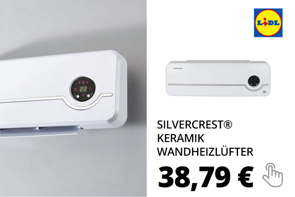SILVERCREST® Keramik Wandheizlüfter »SKWH 2000 A2«