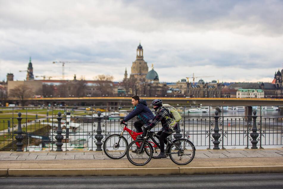 Mit dem Umstieg vom Auto aufs Rad kann jeder Dresdner dabei helfen, die Klimaziele zu erreichen.
