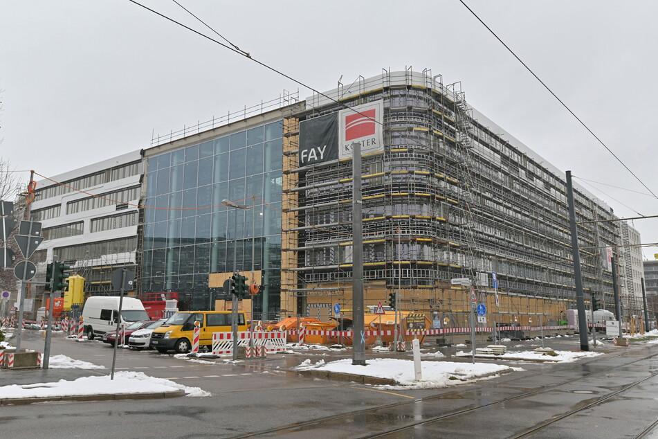 Die Eins-Energie-Zentrale: Noch vor der Fertigstellung hat der Projektentwickler das Gebäude verkauft.