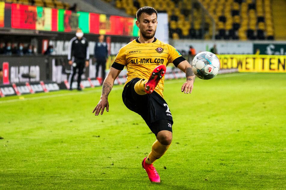 Sascha Horvath (25) absolvierte für Dynamo Dresden 50 Partien, konnte aber nur phasenweise überzeugen.