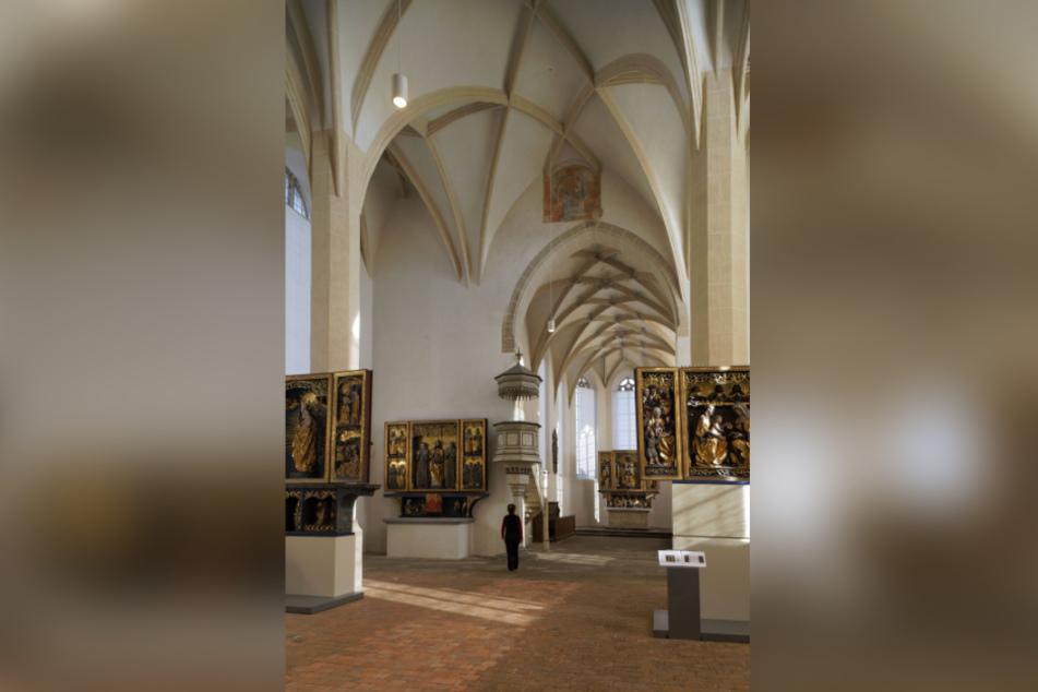 Das Sakralmuseum birgt wertvolle Altare, welche den Bildersturm überstanden haben.