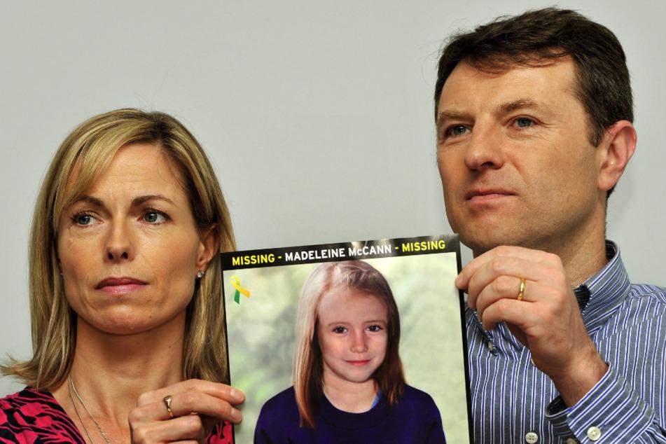 """Kate und Gerry McCann, Eltern der vor 13 Jahren verschwundenen Britin Madeleine """"Maddie"""" McCann."""