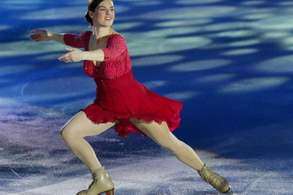 Kati Witt kehrt zurück aufs Eis