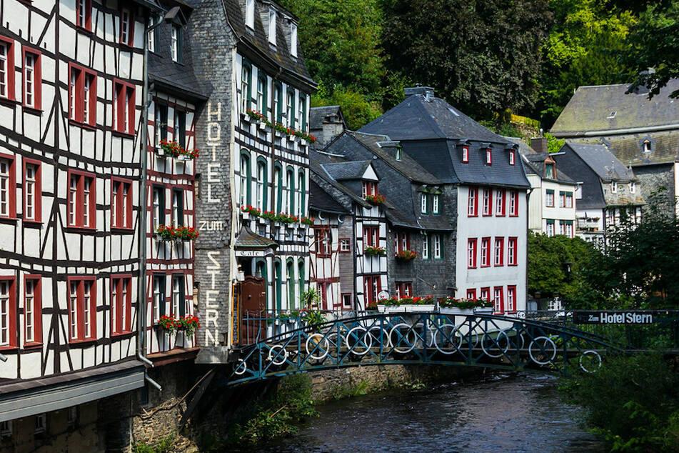Fachwerkhäuser in Monschau.