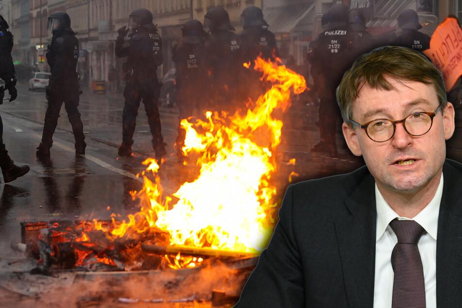 """Neue Dimension des Linksextremismus in Leipzig: """"Gewalttätiger und militanter geworden"""""""
