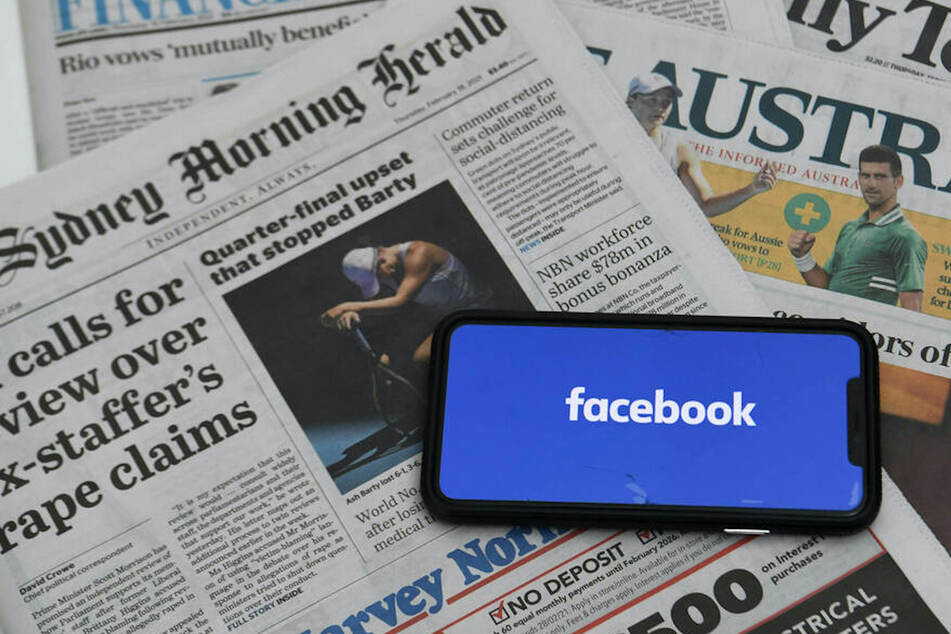 Facebook bans news posts in Australia amid dispute over media law