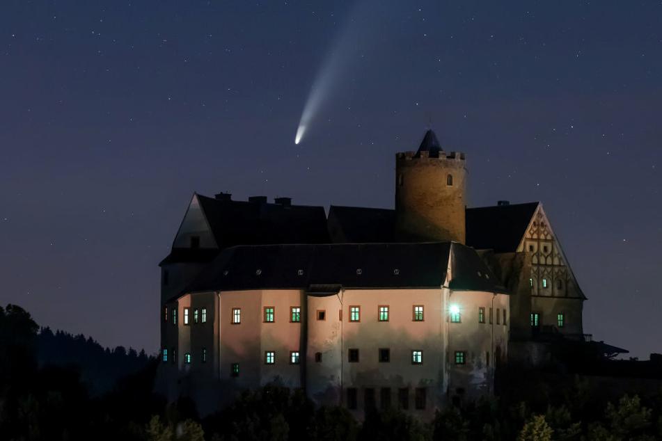 """""""Neowise"""" kommt: Das Erzgebirge im Kometen-Fieber"""