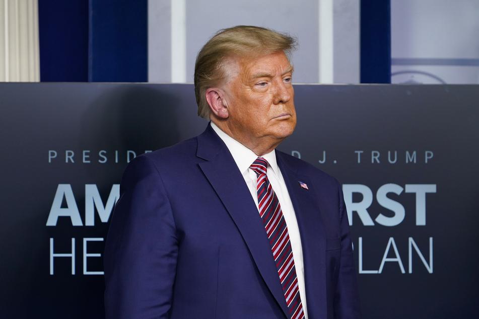 Donald Trump (74), amtierender Präsident der USA.