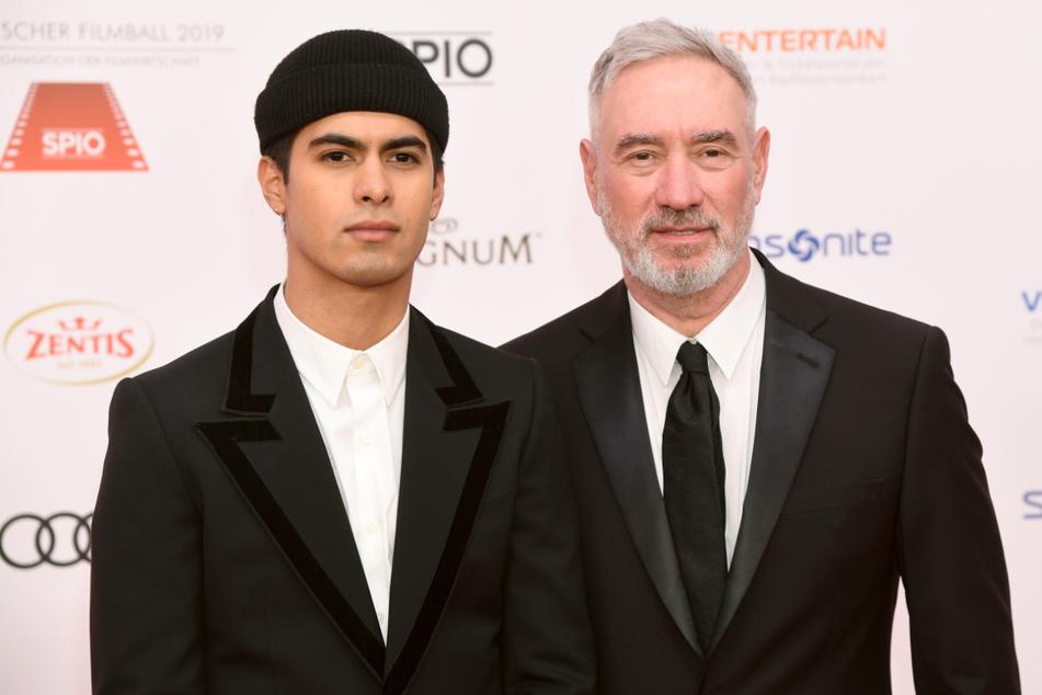 München, Januar 2019: Emmerich und sein 30 Jahre jüngerer Ehemann Gerardo Omar Soto beim Deutschen Filmball.