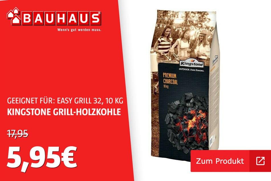 Grillholzkohle 10Kg Premium für 5,95 statt 17,95 Euro