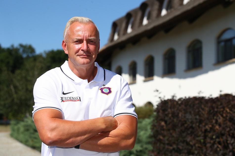 Aue-Geschäftsführer Michael Voigt (48).
