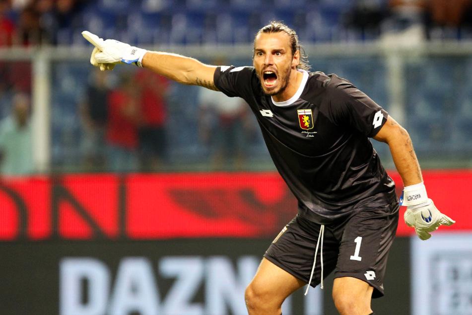 Federico Marchetti (37) hütete bei der Weltmeisterschaft 2010 das italienische Tor. Aktuell ist er beim Erstligisten Genua CFC die Nummer zwei.