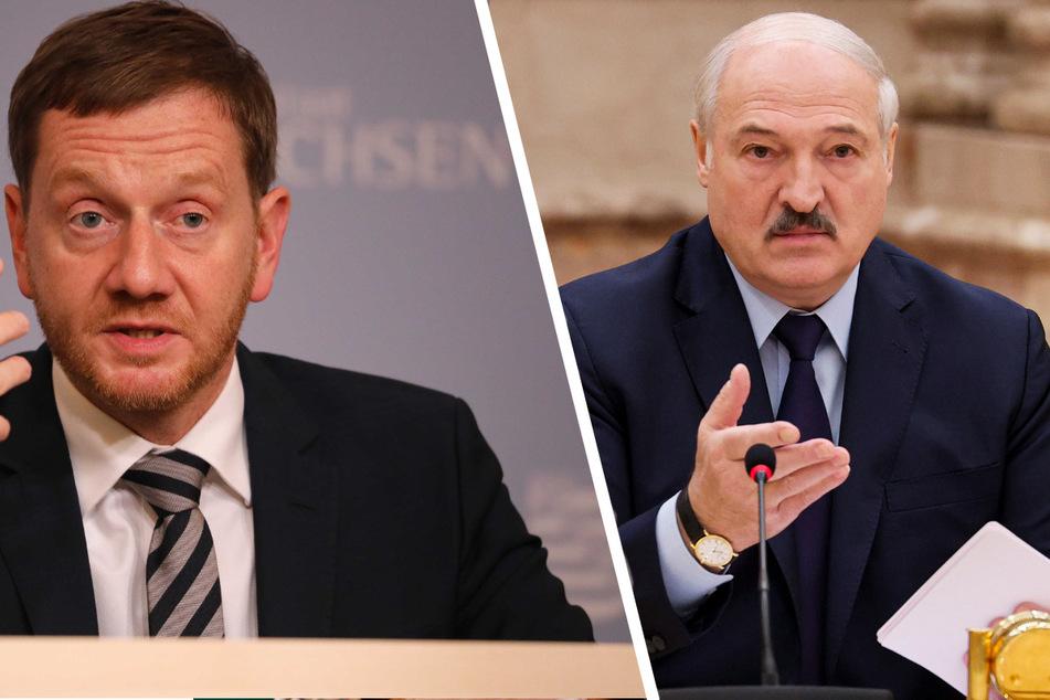 Wegen Migranten-Strömen: Kretschmer sagt Lukaschenko den Kampf an