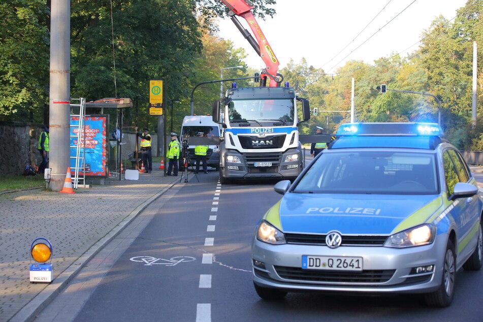 Knapp vier Wochen nach dem tödlichen Unfall rekonstruierten Polizei und DEKRA das Geschehen.