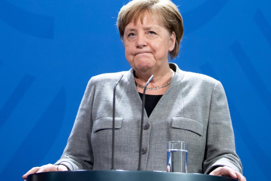 Angela Merkel war das Ziel von Meuthens Worten.