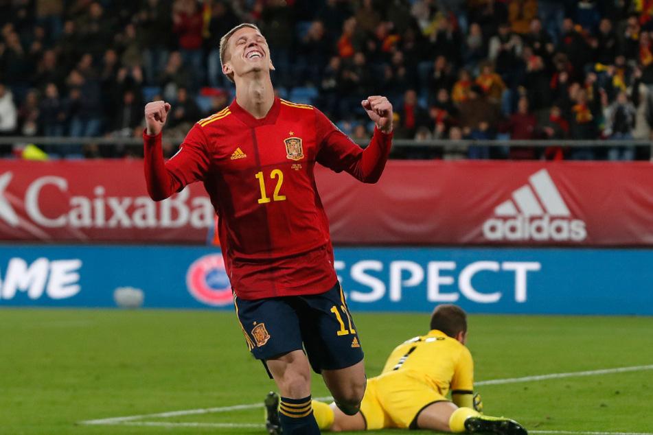 Dani Olmo (23) tritt am kommenden Montag mit der spanischen Nationalmannschaft gegen die Kroaten an. Deren Fans sehen ihn als großes Idol an. (Archivbild)