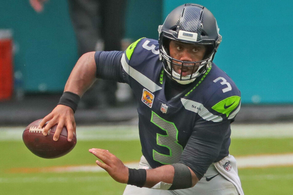 Russell Wilson has the second best passer rating in the NFL.