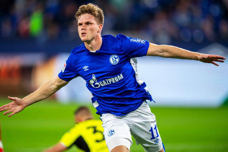 Marius Bülter brachte den FC Schalke 04 mit 1:0 in Führung.