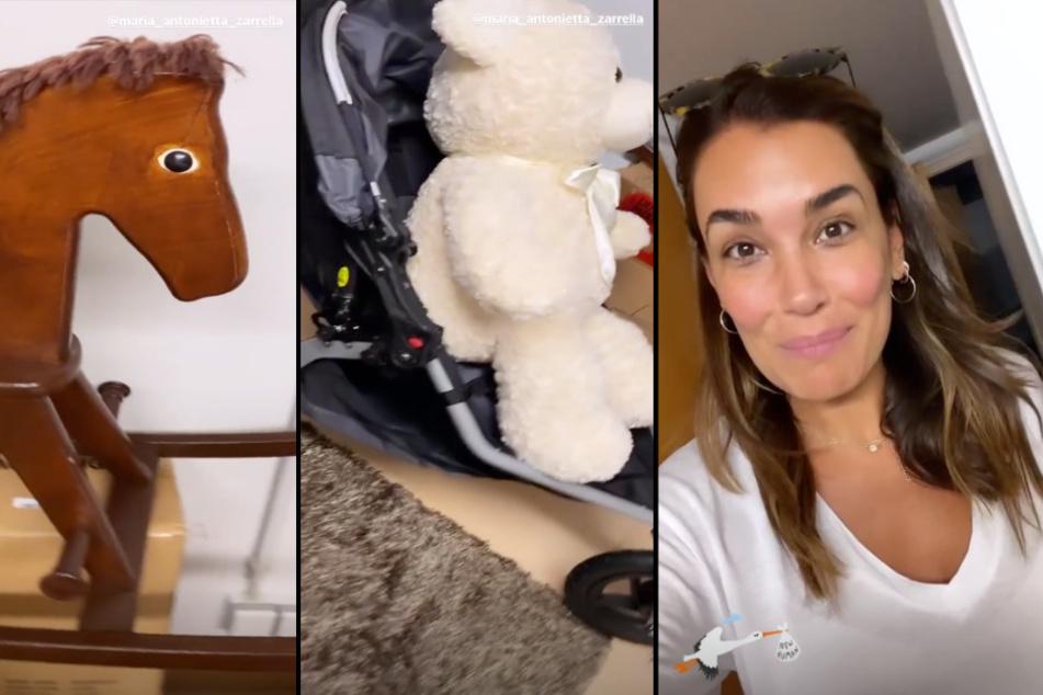 Ein Schaukelpferd, ein Teddy und vieles mehr gehört bald Jana Inas Schwägerin.