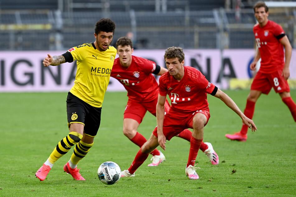 Bei der 0:1-Niederlage gegen die Bayern nur eingewechselt: Jadon Sancho (20).