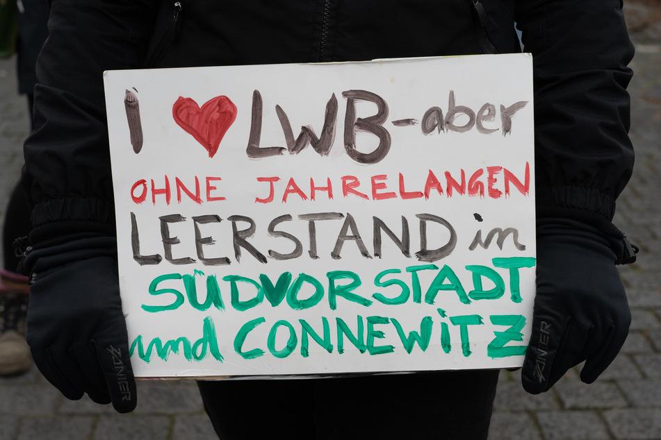 """Am Samstag wurde unter anderem in Leipzig für den """"Housing Action Day"""" demonstriert."""