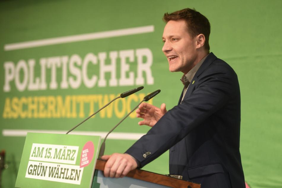 Ludwig Hartmann, Fraktionsvorsitzender der Grünen im Bayerischen Landtag.