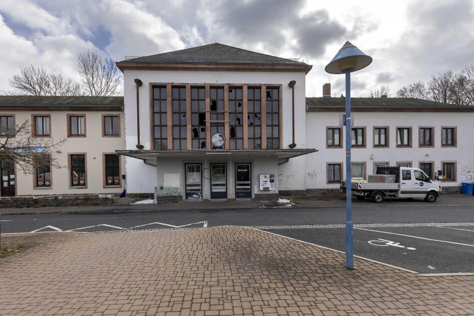 Bald alles neu: 5,2 Millionen Euro investiert die Bahn in den Bahnhof Flöha.
