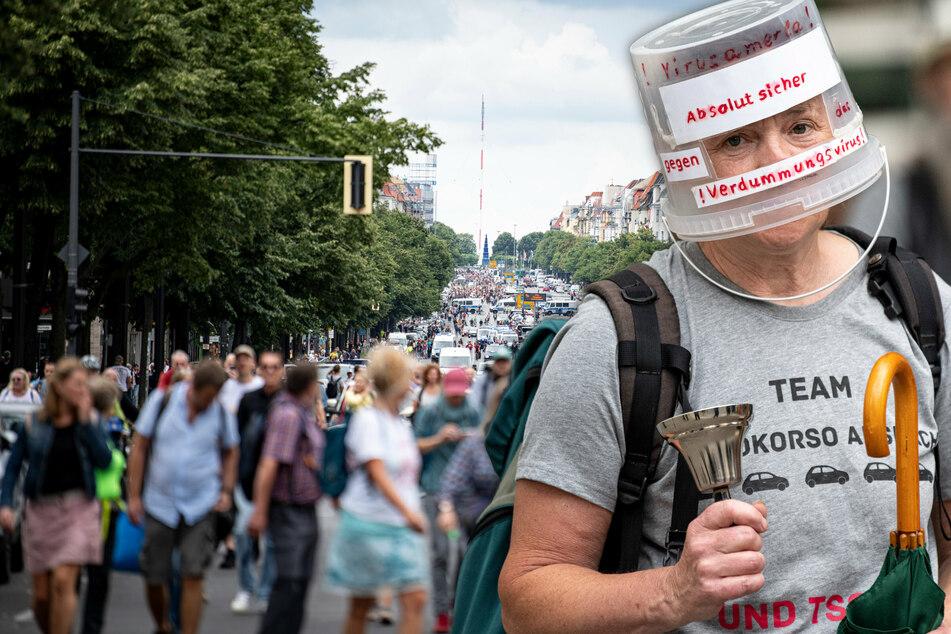 Berlin: Querdenker am Wochenende in Berlin: Gericht kippt ein Demo-Verbot