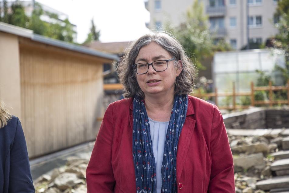 Bürgermeisterin Eva Jähnigen (55, Grüne).