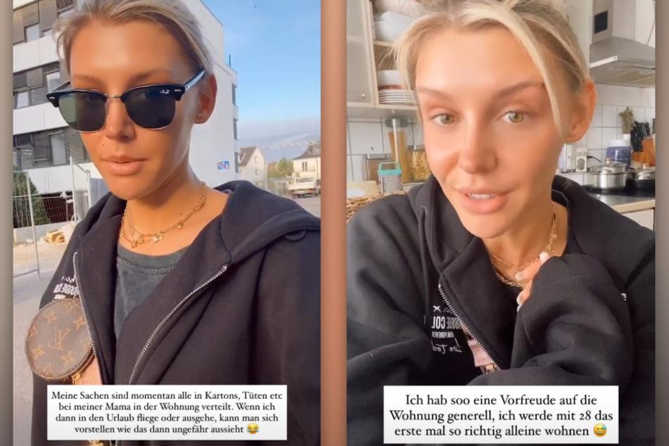 Gerda Lewis (27) zieht in ihre erste eigene Wohnung in Köln und kämpft mit organisatorischem Stress. (Fotomontage)