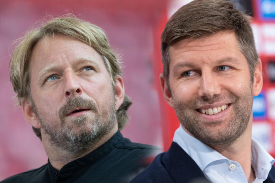 Hitzlsperger (rechts) denkt, dass Mislintat (links) gut zum VfB passt. (Bildmontage)